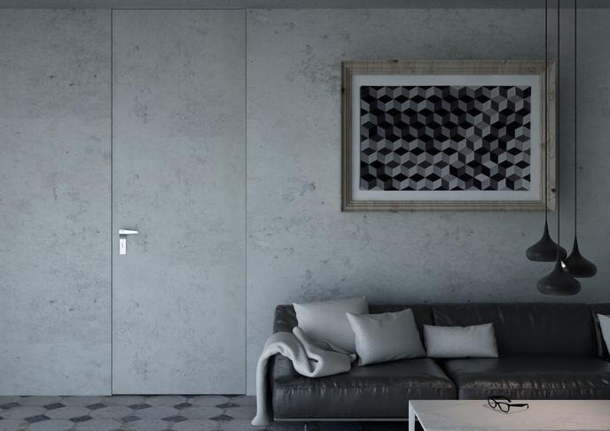 Płaskie betonart