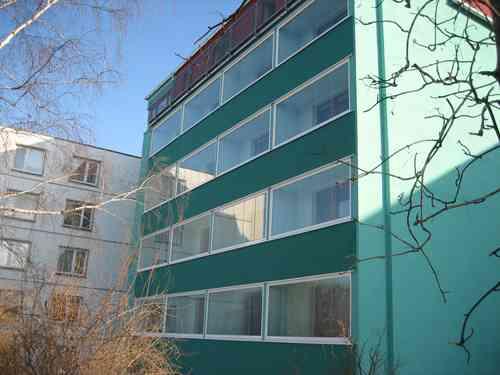 przeszklone balkony