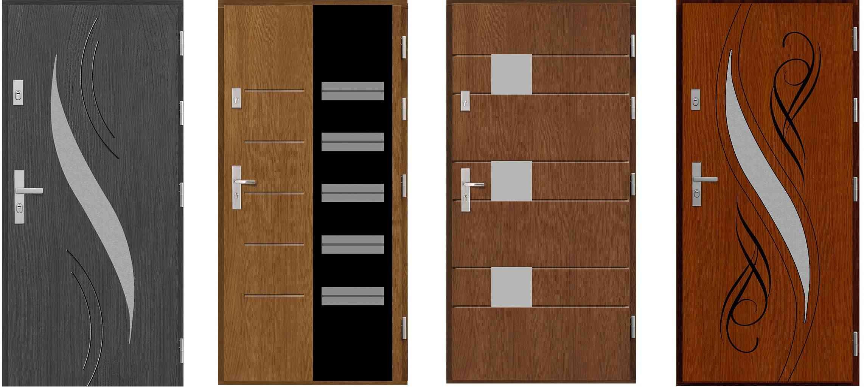 wzory drzwi drewnianych
