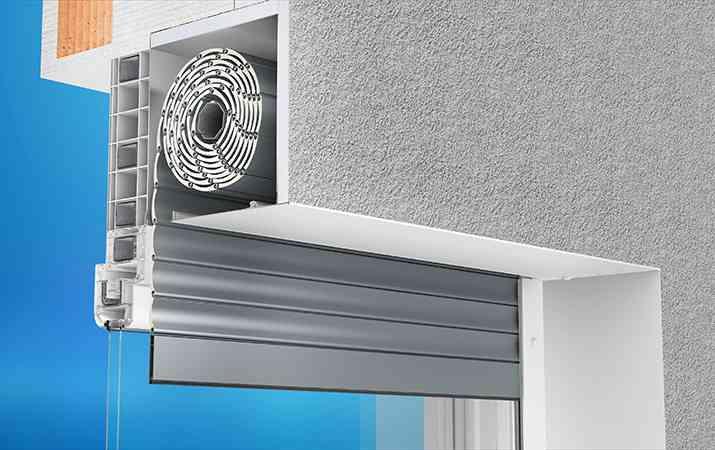 montaż rolety podtynkowej z obniżeniem okien