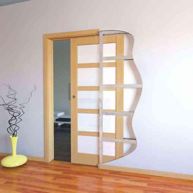 drzwi przesuwne chowane w ścianę
