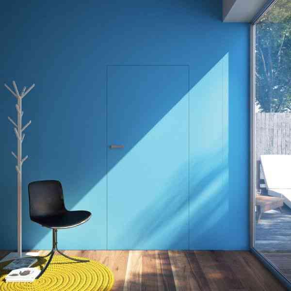 drzwi malowane farbą